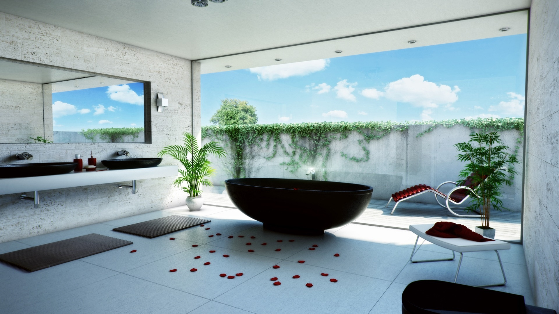 new-look-bathroom-wallpaper-ideas