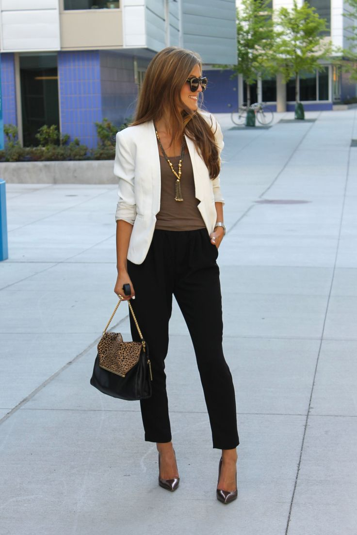 white-blazer-black-pants