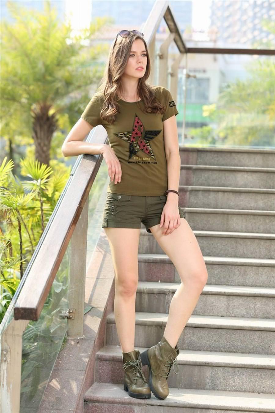 3157637cbf8e fashion-summer-style-casual-women-shorts-outdoor-sports-