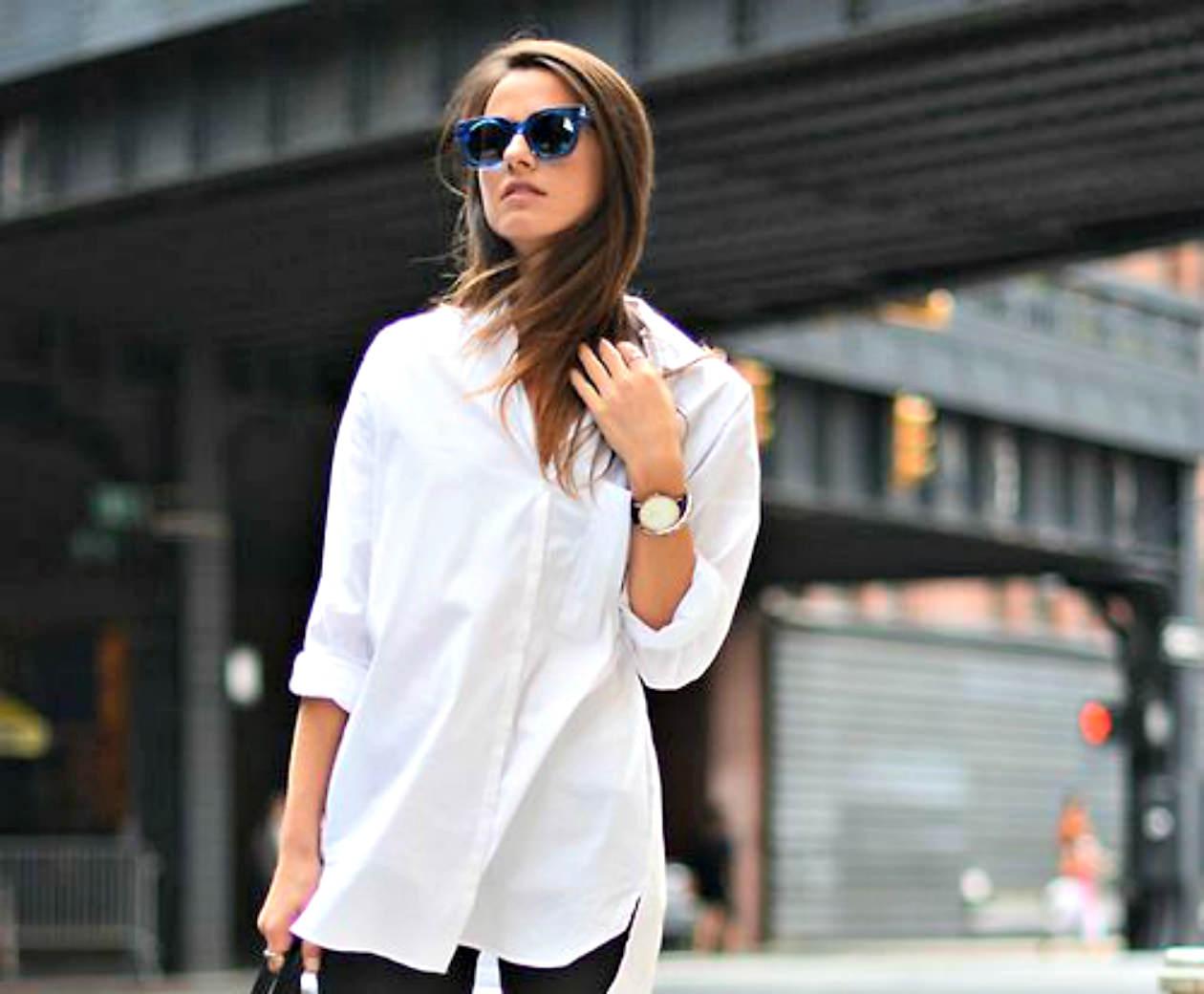 92dba660deec Φόρα με στιλ το λευκό σου πουκάμισο