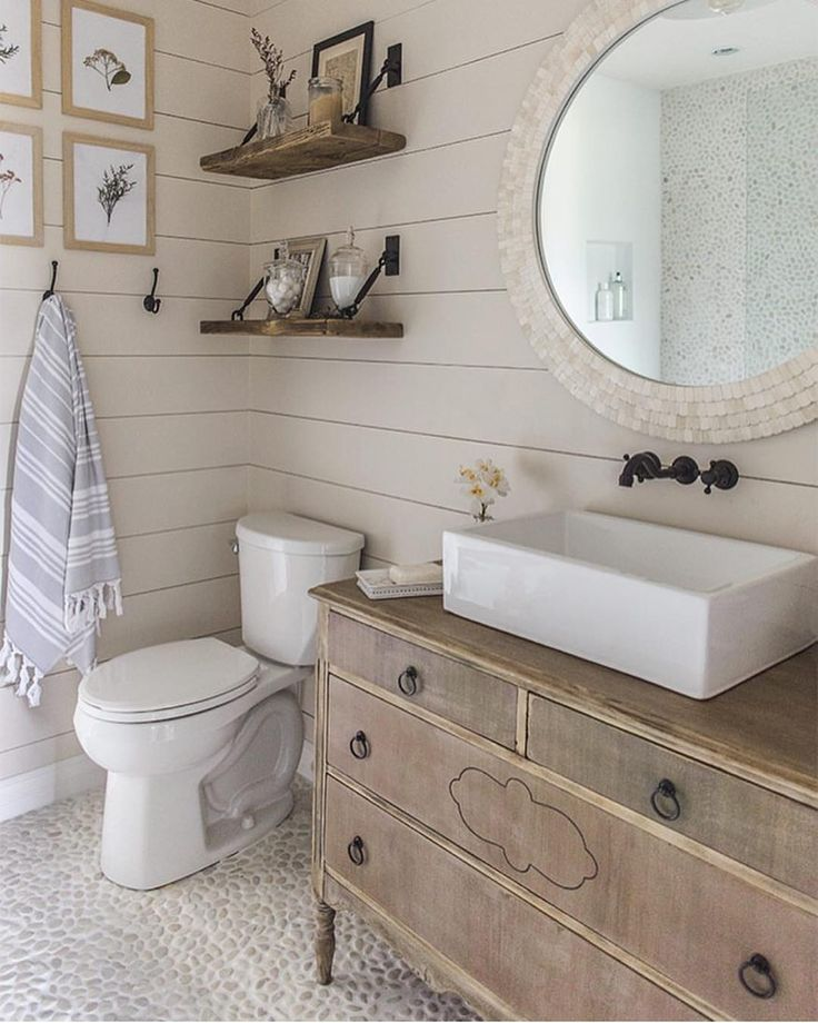 Best 25 Shiplap Bathroom Ideas On Pinterest  Shiplap Master Simple Rustic Small Bathroom Ideas Decorating Design