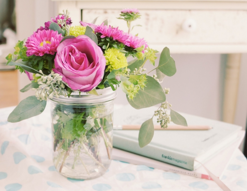 φρέσκα λουλούδια