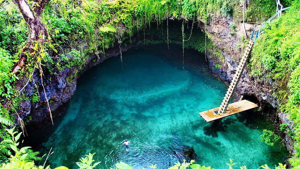 Sua Ocean Trench - Σαμόα