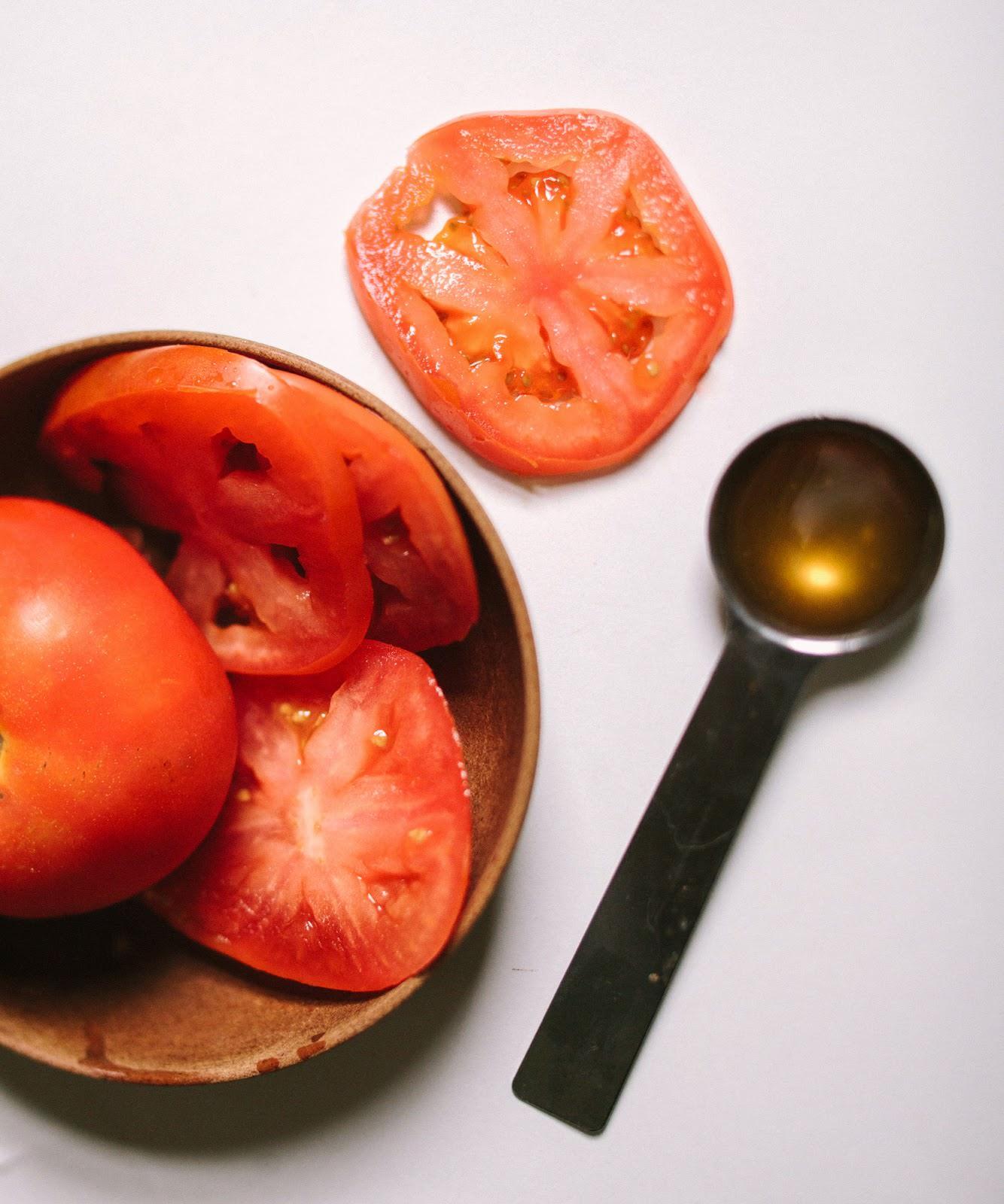 tomato honey face mask clean green living tutorial recipe-2