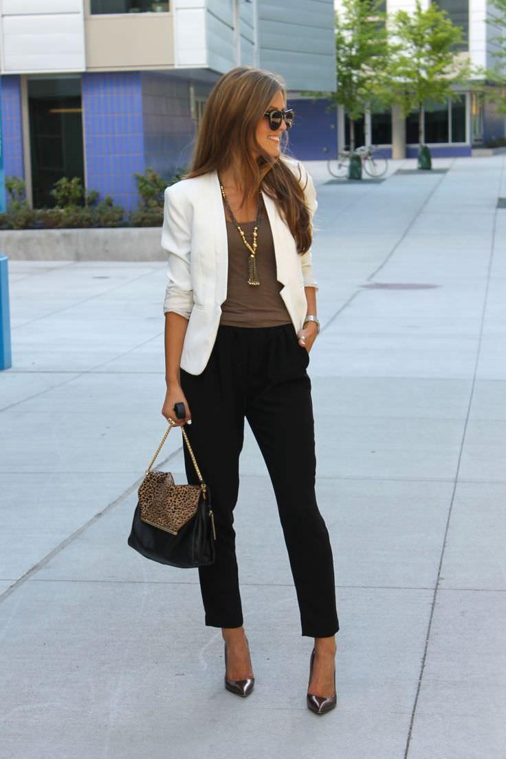 white-blazer-black-pants
