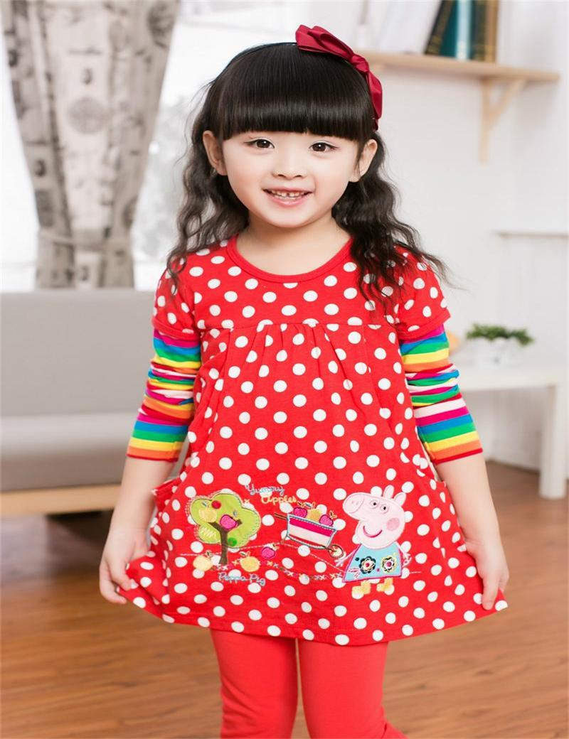 4-colors-Girls-dresses-nova-branded-KIDS-WEAR-DRESS-export-children-s-clothes-cartoon-hot-selling