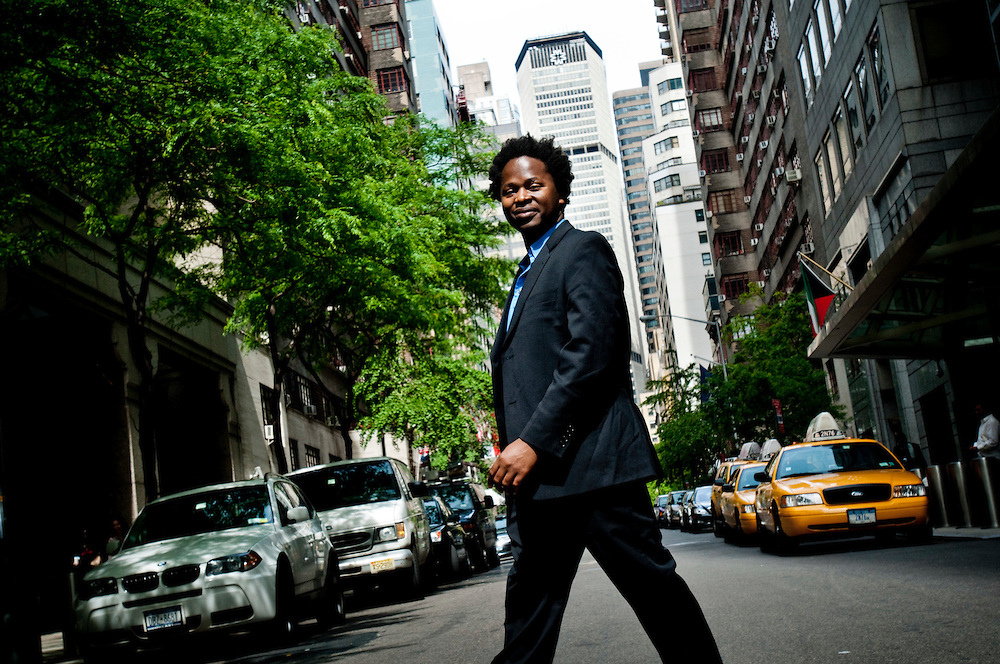 Ishmael Beah, former child soldier in Sierra Leone, now ambassador for the UNICEF in New York. Photographer: Chris Maluszynski /MOMENT