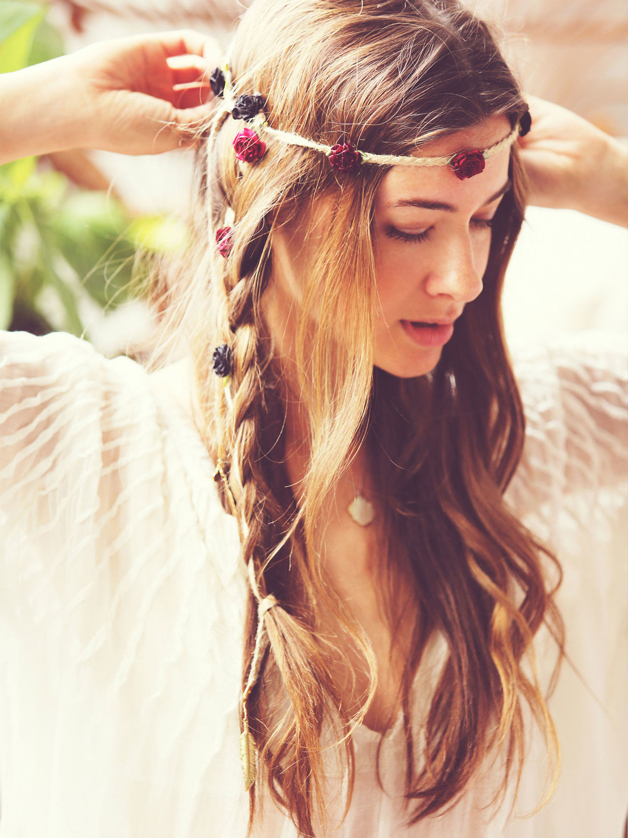messy-boho-hairstyle-with-braids-2016