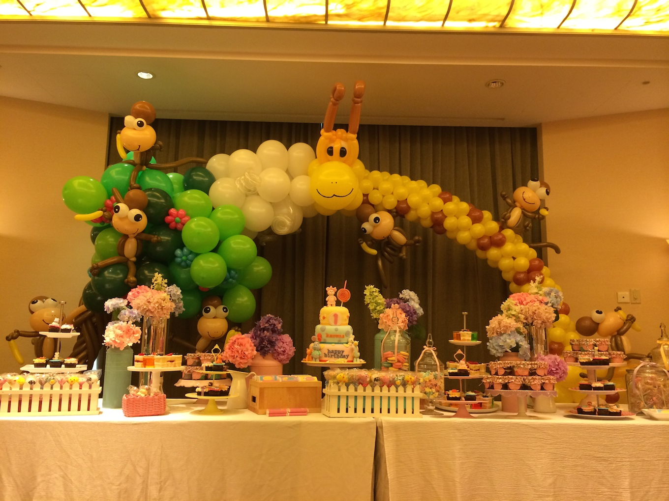 Balloon-Decorations-for-Birthday-Party