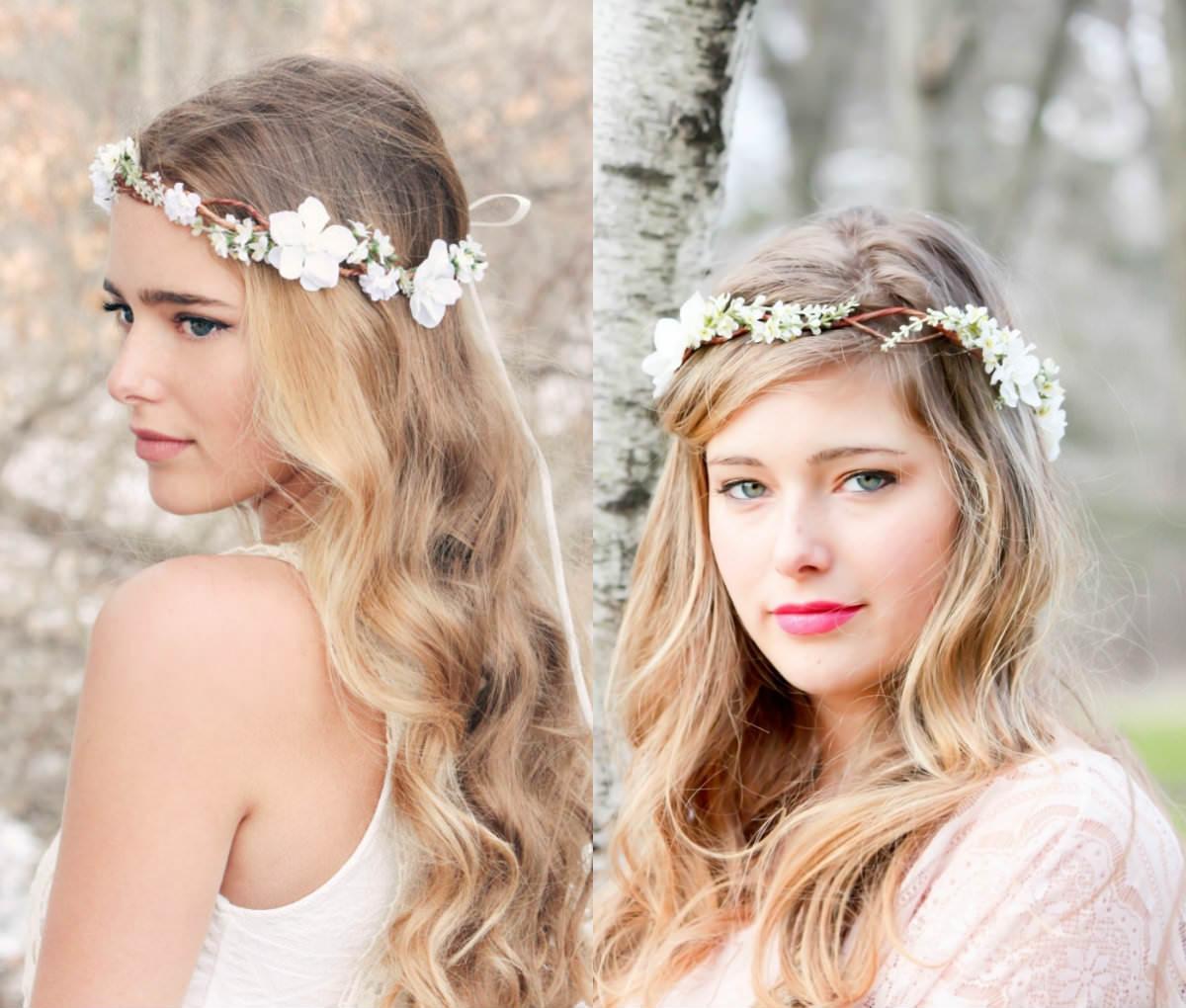 thin-flower-crown-bridal-hairstyles
