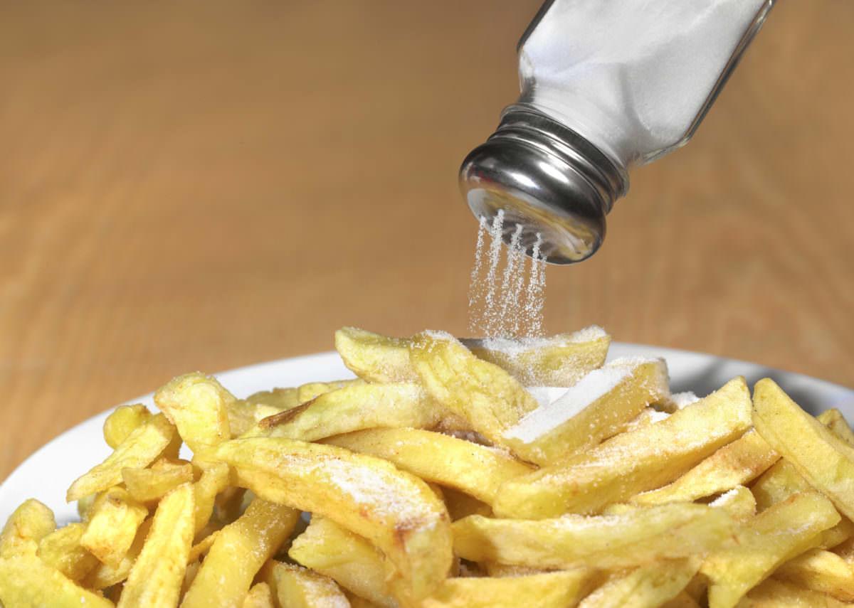 Too much salt on chips